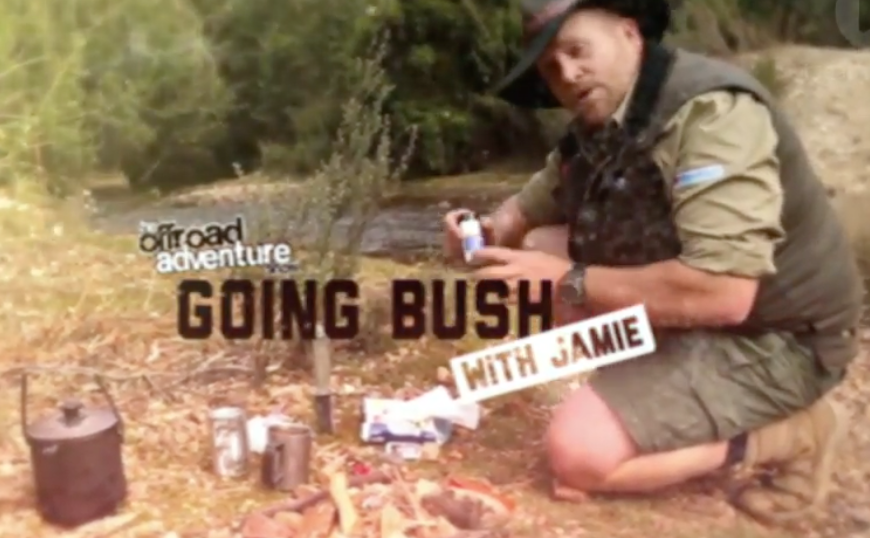 Going bush with Jamie, Australian Bushman