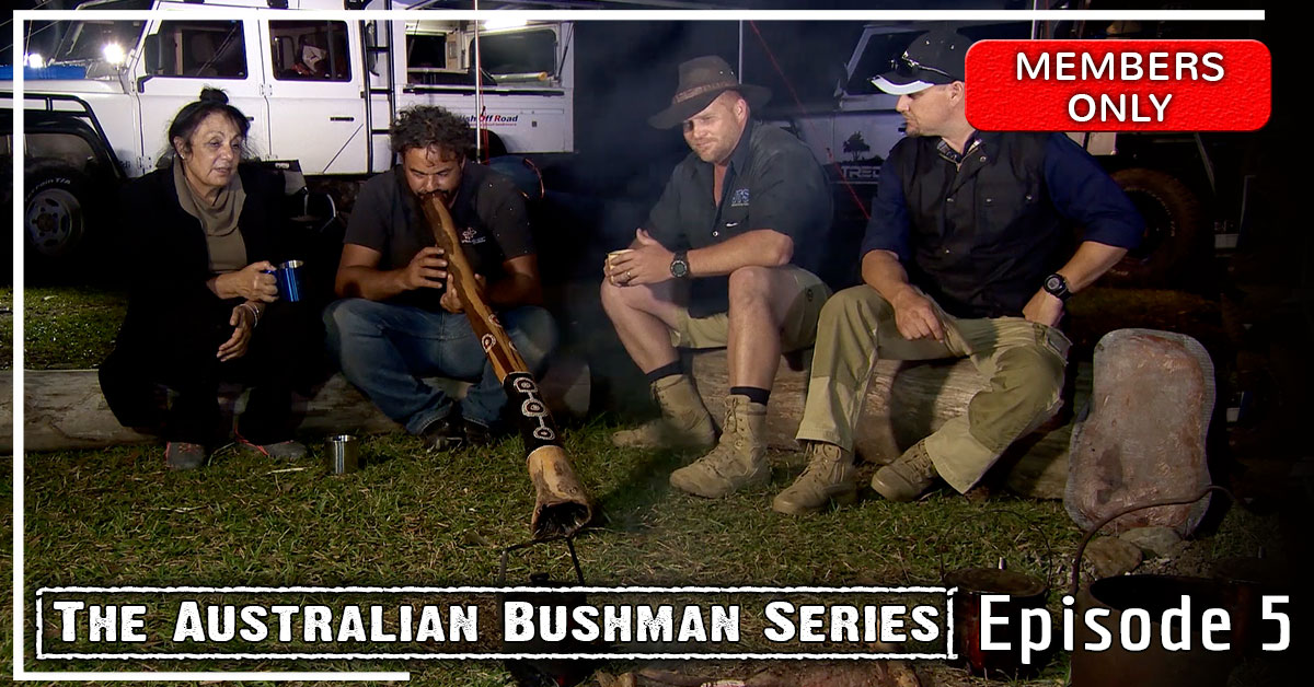 Australian bushman web series eppisode 5 The Sunshine Coast Bush Tucker