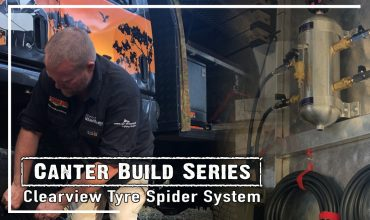 clearview tyre spider 4wd tyre deflator system